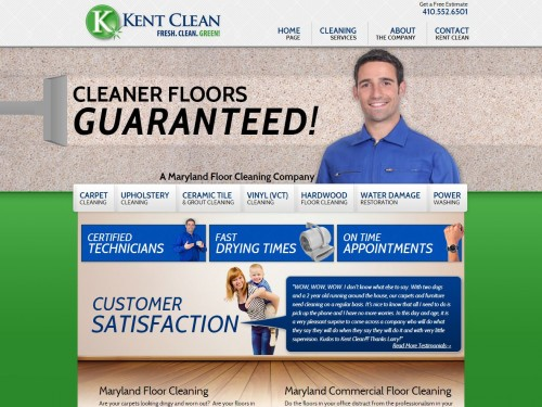 Kent Systems Clean Floor Cleaning