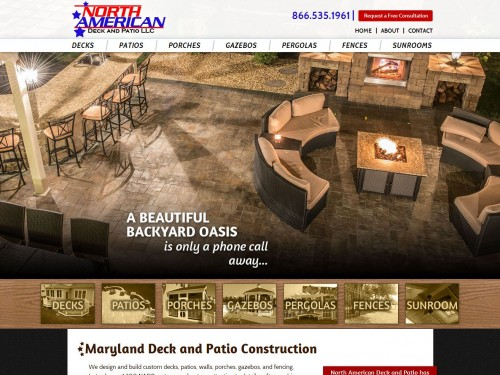 maryland deck company, maryland deck contractor